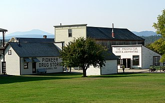 Fort Steele, British Columbia - Some of the original buildings at Fort Steele
