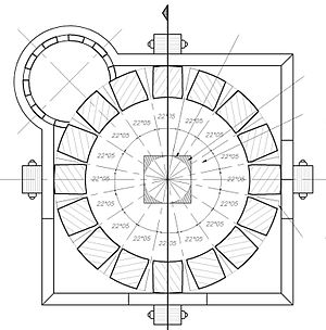 Fort n de heredia wikipedia la enciclopedia libre for Que es una planta arquitectonica