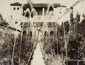 Fotografi av Granada. Generalife. Vista general del Patio de la Acequia - Hallwylska museet - 104828.tif