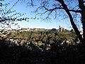 Fougères (35) Haute ville vue de la Butte à Bigot 01.jpg