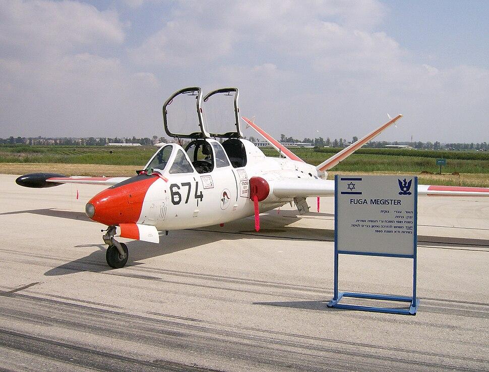 Fouga Magister IAF