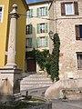Fountain in the square at Gattières - panoramio.jpg