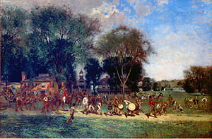 Alfred Cornelius Howland - Fourth of July Parade, c.1886, High Museum of Art, Atlanta