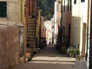Framura - Street in the historical centre