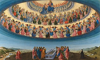 Francesco Botticini - Image: Francesco Botticini The Assumption of the Virgin