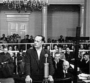 Franciszek Niepokólczycki-The show trial 1947.jpg