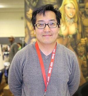 Frank Cho - Frank Cho at the 2010 WonderCon