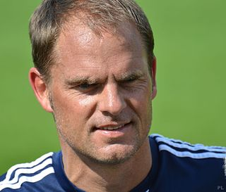 Frank de Boer Dutch association football player and manager
