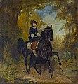 Franz Adam - Kaiserin Elisabeth von Österreich zu Pferd.jpg