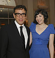 Fred Armisen and Carrie Brownstein at 2012 Peabody Awards.jpg