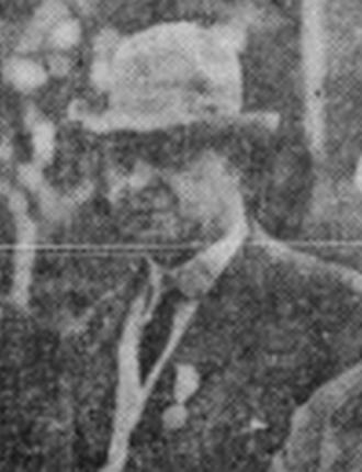 Fred L. Baker - Baker in 1910
