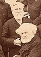 Frederick John Owen Evans and Jules Janssen at the International Meridian Conference (sepia).jpg