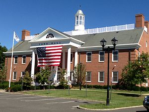 Freehold Township, New Jersey - Town Hall in Freehold Township, located on Schanck Road