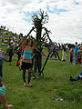 Fremont Solstice Parade 2007 - Ent and fairy at Gasworks 01.jpg