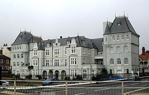French Convalescent Home, Brighton - The building from the south-southeast
