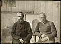 Fridtjof Nansen og Erik Werenskiold i malerens atelier, ca 1907 (7248436944).jpg