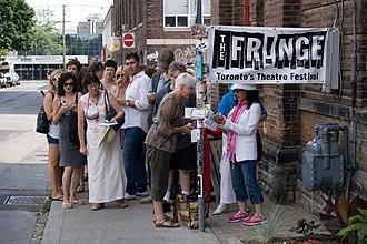 Toronto Fringe Festival - Image: Fringe signature