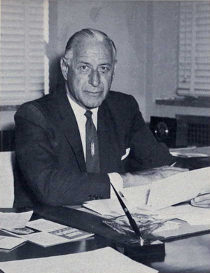Fritz Crisler - Crisler from 1962 Michiganensian