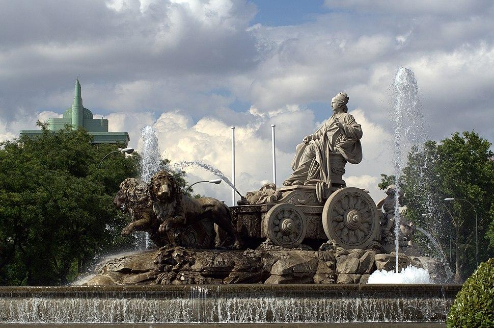 Fuente de Cibeles (Madrid) 06