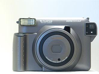 Instax - Fujifilm Instax 500AF camera