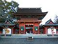 Fujinomiya Hongu Sengen Taisha Roumon.jpg