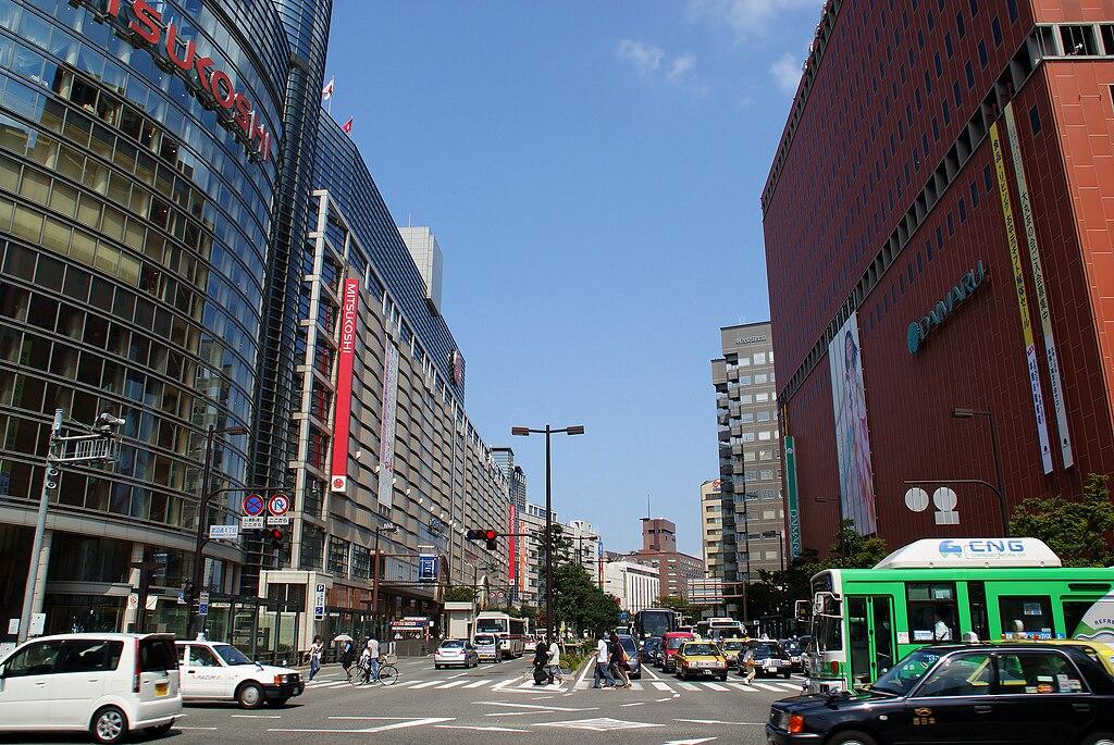 filefukuoka city watanabedori avenue 01jpg