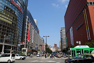 Фукуока: Fukuoka City - Watanabe-dori Avenue - 01