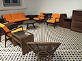 Furniture from 38 Oxley Road, National Museum of Singapore - 20151213.jpg