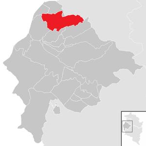 Götzis - Image: Götzis im Bezirk FK