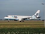 G-FBJG Flybe Embraer ERJ-175STD (ERJ-170-200) cn17000344 takeoff from Schiphol (AMS - EHAM), The Netherlands pic2.JPG
