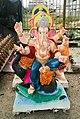 Ganesh Chaturthi Images - A Ganesh Murti on display on occasion of Ganesh Chaturthi.jpg