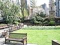 Garden at St Andrew's Holborn - geograph.org.uk - 766551.jpg