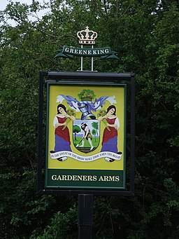 Gardeners Arms Pub Sign - geograph.org.uk - 1367743