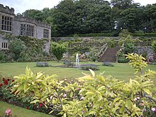 Gardens at Haddon Hall - geograph.org.uk - 1770560.jpg