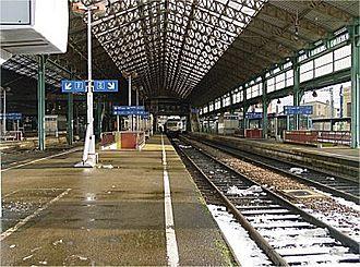 Saint-Étienne–Lyon railway - Lyon-Perrache.