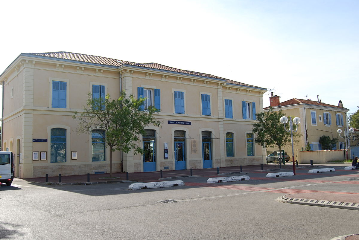 Gare de pertuis wikip dia - Architecte pertuis ...