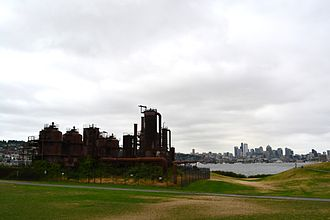 The Amazing Race 10 - The starting line of this season was at Gas Works Park in Seattle, Washington.