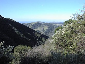 Gaviota State Park - Gaviota State Park from the Gaviota Peak Trail