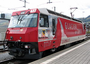 Rhaetian Railway Ge 4/4 III - Image: Ge 4 4 III 651