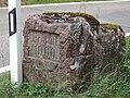 Gedenkstein Straßenbau Oberkollwangen-Bad Teinach 02.jpg