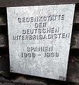 Gedenktafel Linienstr 14 (Mitte) Deutsche Interbrigadisten.jpg