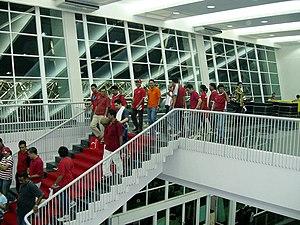 Gelora Bung Karno Stadium - Image: Gelora Bung Karno Stadium, Interior