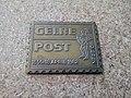 Gelre Post bronze stamp, Kringloop Winschoten (2018) 01.jpg