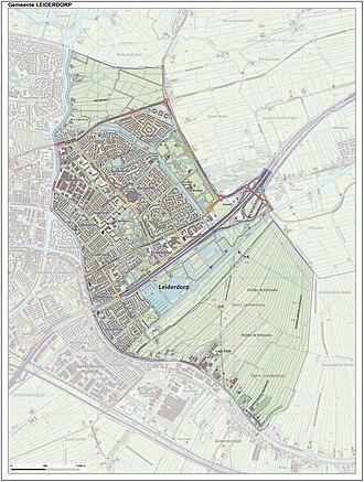 Leiderdorp - Image: Gem Leiderdorp Open Topo