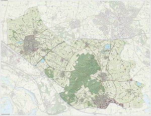 Montferland - Dutch Topographic map of Montferland, June 2015