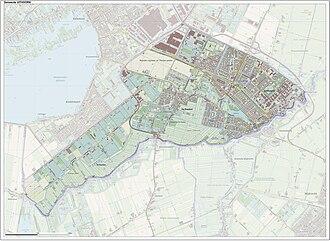Uithoorn - Image: Gem Uithoorn Open Topo