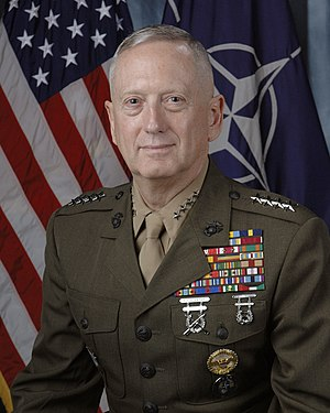 General James N. Mattis, USMC Commander U.S. J...