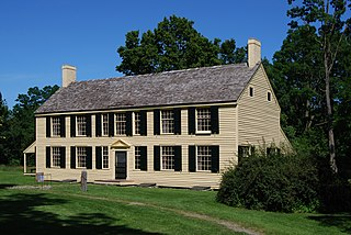 The house of Major General of the Continental Army and later first United States Senator from New York Philip Schuyler in Schuylerville, New York, part of Saratoga National Historic Park.
