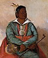 George Catlin - Mó-sho-la-túb-bee, He Who Puts Out and Kills, Chief of the Tribe - 1985.66.294 - Smithsonian American Art Museum.jpg