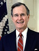 George H. W. Bush, President of the United States, 1989 official portrait cropped.jpg